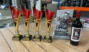 Unikoi pakt prijzen op de Belgian Koi Show